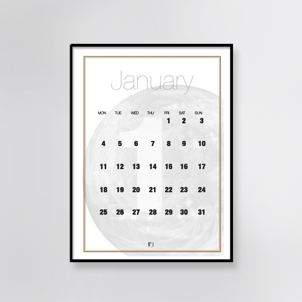Free printable calendar byjanemark january monthly