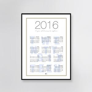 Free printable calendar byjanemark